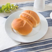 Arcoroc FJ816 Capitale 7 inch White Porcelain Bread and Butter / Side Plate by Arc Cardinal - 48/Case