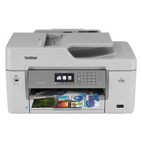 Brother MFC-J6535DW Business Smart Pro Color All-In-One Inkjet Printer with INKvestment Cartridges