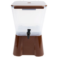 Tablecraft 954 3 Gallon Brown Beverage / Juice Dispenser