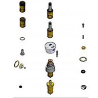 T&S B-8K-NS Parts Kit for Metering Faucets with Eterna Cartridges and Spring Checks