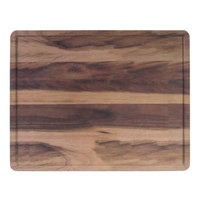 Elite Global Solutions M1215RCFP-HW Fo Bwa 15 inch x 12 inch x 1/2 inch Faux Hickory Wood Melamine Serving Board