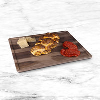 Elite Global Solutions M1215RCFP-HW Fo Bwa 15 inch x 12 inch Faux Hickory Wood Melamine Serving Board