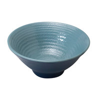 Elite Global Solutions D1005RR-ABY/LAP Durango 14 oz. Abyss and Lapis Round Two-Tone Melamine Bowl - 6/Case