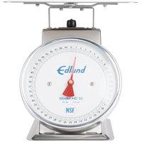 Edlund HD-50 50 lb. Heavy-Duty Receiving Scale with 10 3/4 inch x 9 1/2 inch Platform
