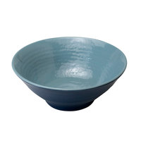 Elite Global Solutions D1007RR-ABY/LAP Durango 24 oz. Abyss and Lapis Round Two-Tone Melamine Bowl - 6/Case