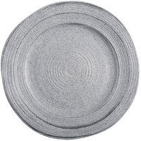Elite Global Solutions D101ST Della Terra Melamine Stoneware 10 inch Granite Irregular Round Plate - 6/Case