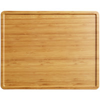 Elite Global Solutions M1215RCFP-BB Fo Bwa 15 inch x 12 inch Faux Bamboo Melamine Serving Board