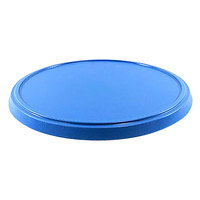 Elite Global Solutions ECO13RLID-BC Base Camp Blue Melamine Bento Box Lid