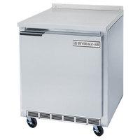 Beverage-Air WTF27AHC-24-23 27 inch Compact Worktop ADA Height Freezer - Left Hinge