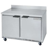 Beverage-Air WTRF48A-1-SA-A-23 48 inch Dual Temp ADA Height Worktop Refrigerator / Freezer