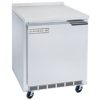 Beverage-Air WTR27AHC-24 27 inch One Door Left-Hinged Worktop Refrigerator