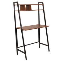 Flash Furniture NAN-JN-21711-GG Wilmette Cherry Desk - 33 inch x 18 inch x 55 1/2 inch