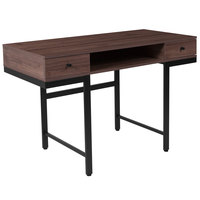 Flash Furniture NAN-NJ-29315-GG Bartlett Ash Wood Desk - 47 1/4 inch x 23 inch x 30 1/2 inch