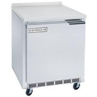 Beverage-Air WTF24AHC-24 24 inch Single Door Worktop Freezer - Left Hinge