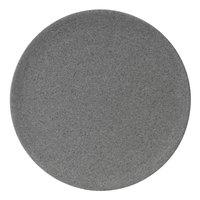 Elite Global Solutions RT6R-GS Tenaya 6 inch Granite Stone Round Melamine Plate - 6/Case