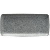 Elite Global Solutions RT146RC-GS Tenaya 14 1/2 inch x 6 1/2 inch Granite Stone Rectangular Melamine Plate - 6/Case