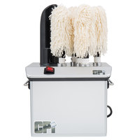 Campus Products GP5 Silver Stemshine Pro Five Brush Electric Glass Polisher - 110V