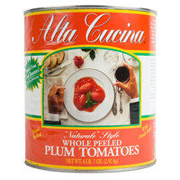Stanislaus #10 Can Alta Cucina Naturale Style Plum Tomatoes   - 6/Case