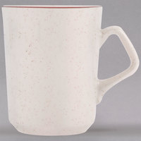 Homer Laughlin 132427 Sand Dunes 8.25 oz. Brown Speckled China Troy Mug - 36/Case