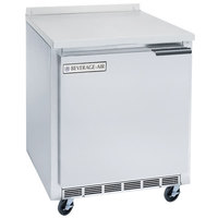 Beverage-Air WTR27AHC-24-23 27 inch Left-Hinged ADA Height Worktop Refrigerator