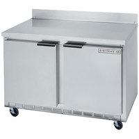 Beverage-Air WTF48AHC-23 48 inch Two Door ADA Height Compact Worktop Freezer