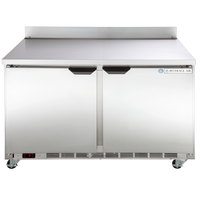 Beverage-Air WTF48AHC-23 48 inch Two Door ADA-Height Worktop Freezer