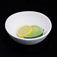 Elite Global Solutions RT62R-OW Tenaya 16 oz. Off White Round Melamine Bowl   - 6/Case