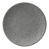 Elite Global Solutions RT8R-GS Tenaya 8 inch Granite Stone Round Melamine Plate - 6/Case
