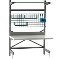 Metro SMWC48P SmartLever Workcenter - 34 inch x 52 inch x 76 inch