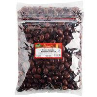 Castella 5 lb. Extra Jumbo Kalamata Olives   - 2/Case