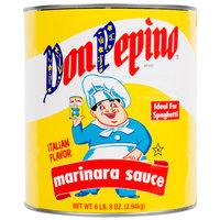 Don Pepino #10 Can Marinara Sauce - 6/Case