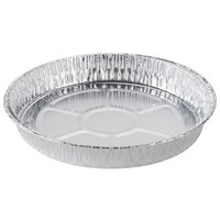 "D&amp&#x3b;W Fine Pack C68 8"" Shallow Foil Cake Pan - 50/Pack"