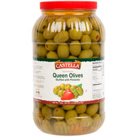 Castella 1 Gallon Stuffed Queen Olives - 110/120 Count