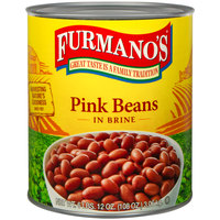 Furmano's Pink Beans #10 Can - 6/Case