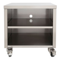 Sammic SE/SU-400 1140560 20 inch x 21 5/8 inch x 25 inch Stainless Steel Equipment Stand