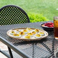 Homer Laughlin 724330 Fiesta Ivory 11 1/4 inch Egg Tray - 4/Case