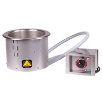 Alto-Shaam 700-RW 7 Qt. Round Drop-In Hot Soup Well - 120V