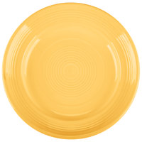 Tuxton CSA-074 Concentrix 7 1/2 inch Saffron China Plate - 24/Case