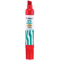 Pilot 45300 Jumbo Red Ink Chisel Tip Refillable Permanent Marker