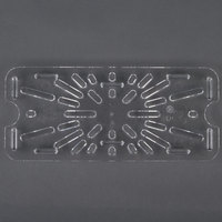 Cambro 30CWD One Third Size Clear Polycarbonate Drain Tray