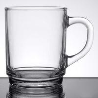 Arcoroc 61875 8.5 oz. Stackable Glass Mug by Arc Cardinal - 36/Case