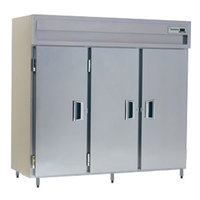 Delfield SMR3-S 80 Cu. Ft. Three Section Solid Door Reach In Refrigerator - Specification Line