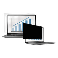 Fellowes 4800701 PrivaScreen 15 7/16 inch 16:10 Widescreen LCD / Notebook Privacy Filter
