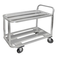 Winholt ALUC-2-2036/36H Heavy-Duty Aluminum Stock Cart
