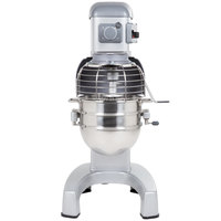 Hobart Legacy HL300-1 30 Qt. Commercial Planetary Floor Mixer with Standard Accessories - 240V, 3/4 hp