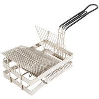 19 inch x 6 5/16 inch x 8 1/2 inch Tostada Frying Basket