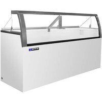 Master-Bilt DD-88LCG Deluxe Ice Cream Dipping Cabinet with Low Curved Glass Front - 22.5 cu. ft.