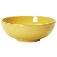 Tuxton BSB-3503 DuraTux 1.01 Qt. Saffron China Menudo / Pasta / Salad Bowl - 12/Case