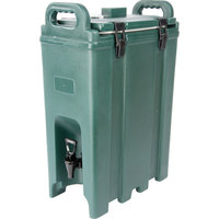 Carlisle LD500N08 Cateraide Forest Green 5 Gallon Insulated Beverage Dispenser