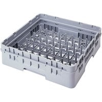Cambro PR59500151 Soft Gray 5 x 9 Camrack Peg Rack with 1 Extender